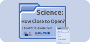 160219 Logo open science blue background